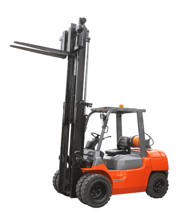 Forklift Orange